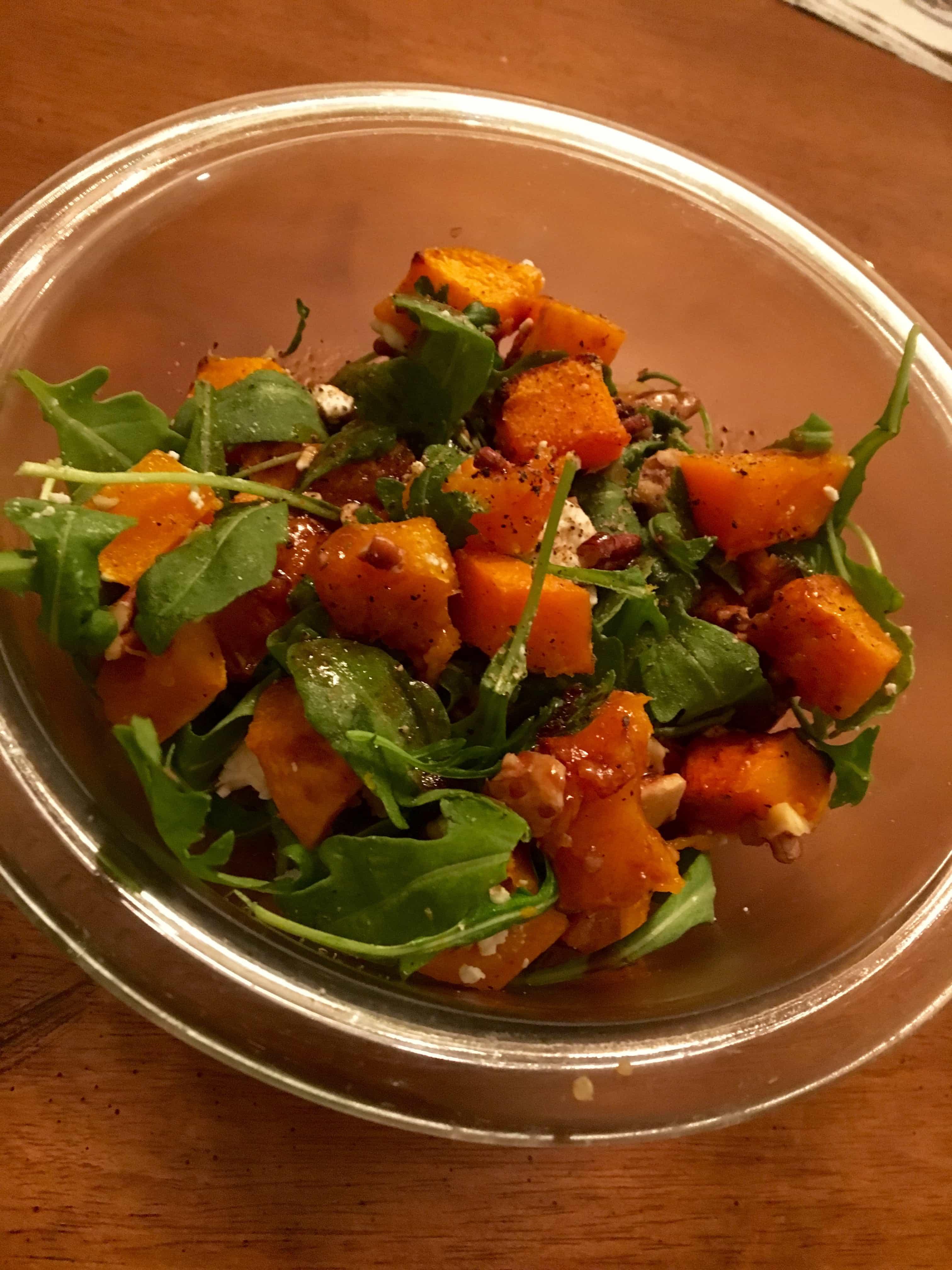 bnut squash salad