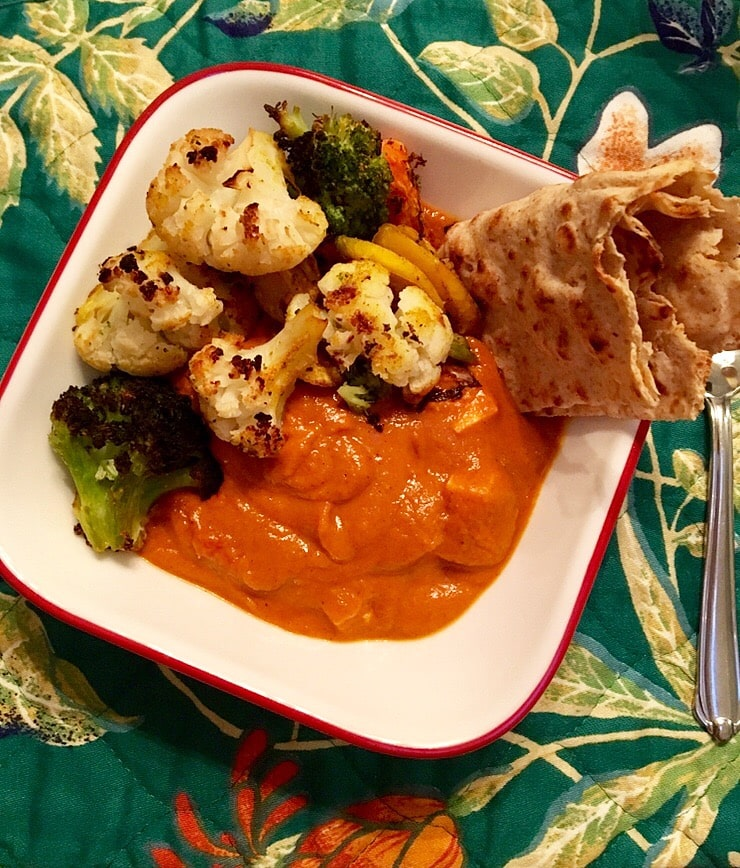 Curry w any vegetable 2