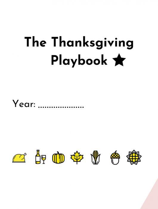 2019 Thanksgiving Playbook PDF document