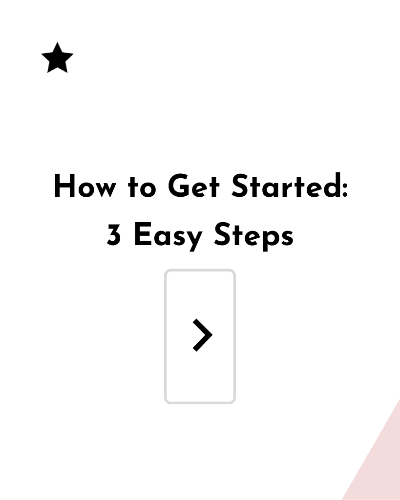 How to Get Started graphic for pinterest